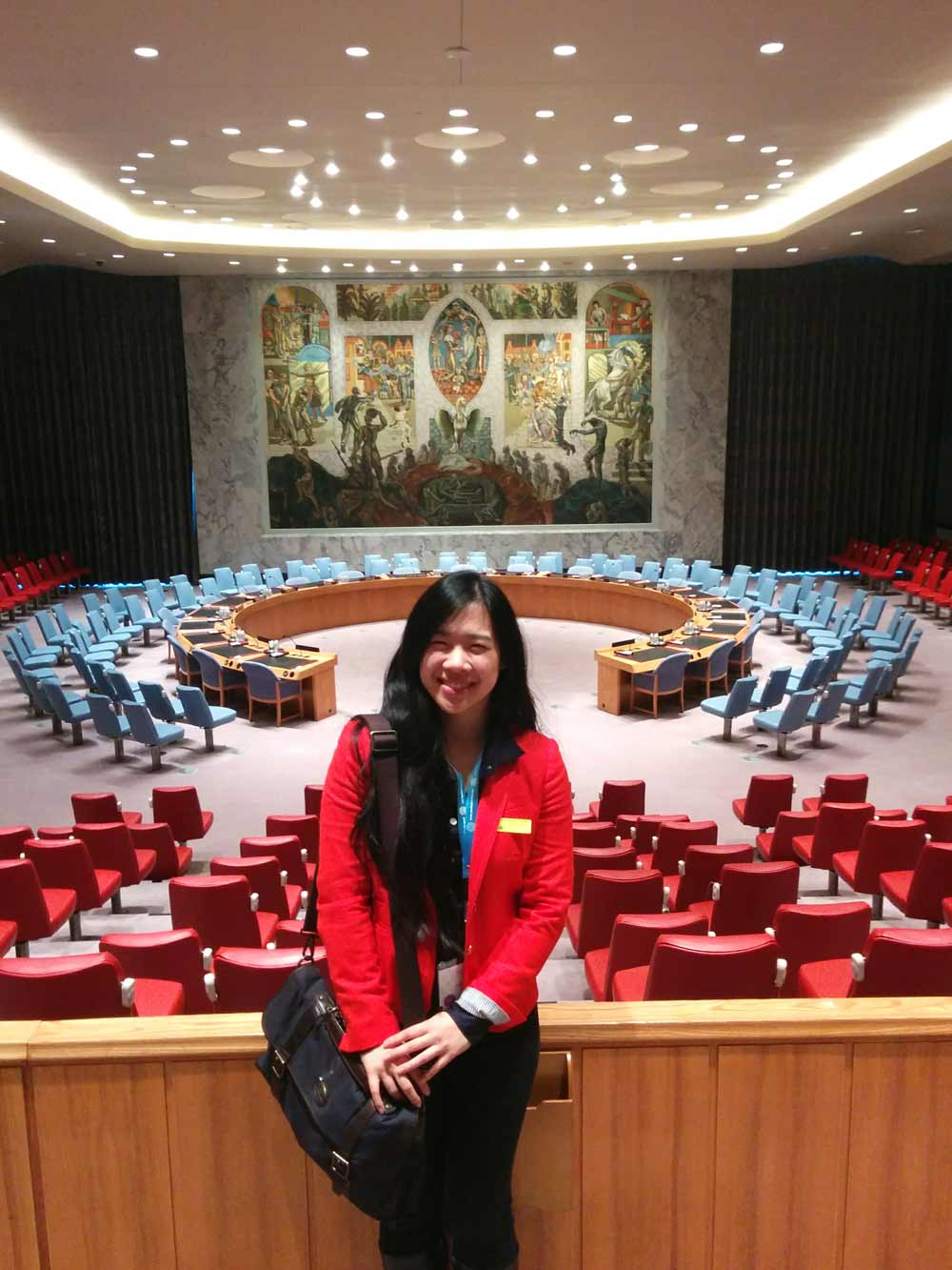Behind the Scenes at the Winter 2015 UN Youth Assembly