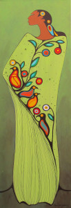 Original-Maxine Noel Tribute to Morrisseau