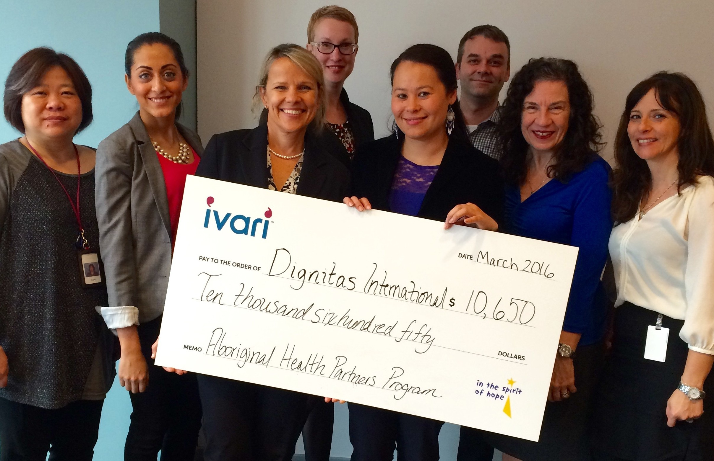 <em>ivari</em> supports Dignitas&#8217; Aboriginal Health Partners Program