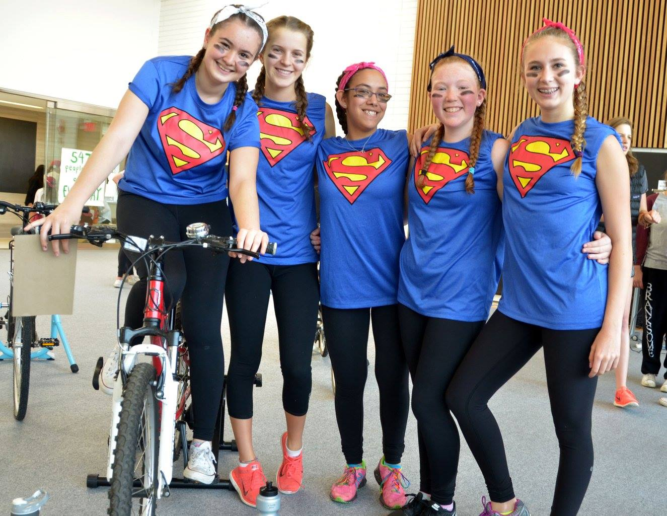Toronto students pedal support for HIV+ Teen Club in Malawi