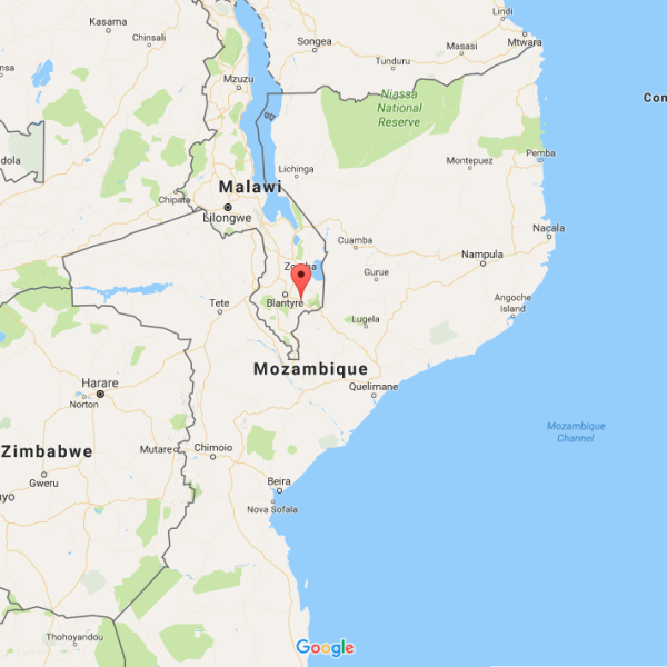 Tuchila, Malawi is located approximately 50km southeast of Blantyre, Malawi's 2nd largest city.