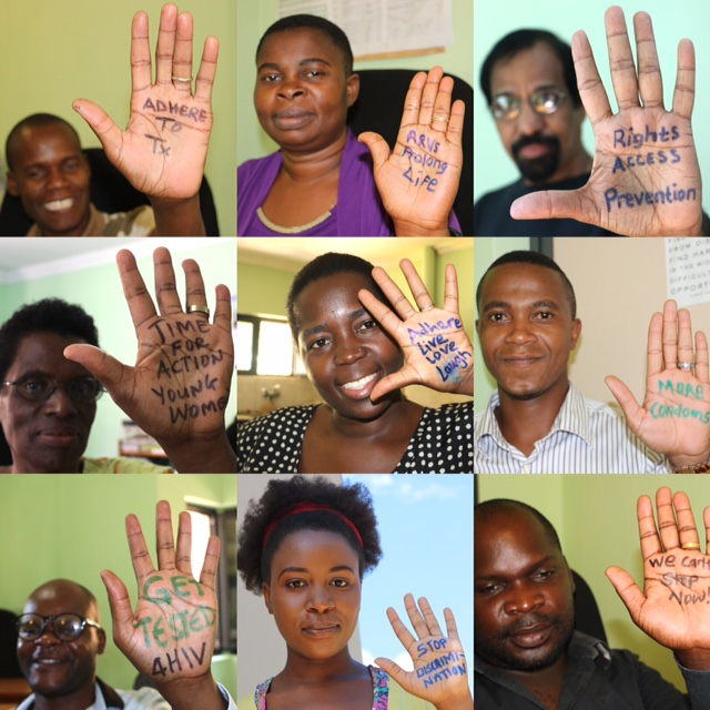 Hands Up For HIV Prevention! – Dignitas marks World AIDS Day in Malawi
